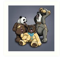 The Three Angry Bears Art Print