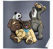The Three Angry Bears Poster