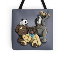 The Three Angry Bears Tote Bag