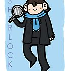 SHERLOCK poster by geothebio