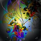 Abstract Modern Original Digital art by artonwear