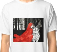 Riding and the Wolf Classic T-Shirt