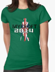 Mycroft Holmes 2014 Womens Fitted T-Shirt