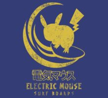 ELECTRIC MOUSE SURF BOARDS by DREWWISE