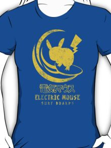 ELECTRIC MOUSE SURF BOARDS T-Shirt