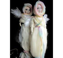 wool angel dolls Photographic Print