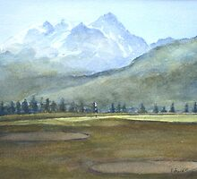 Golf course by Edward Scale by HurstPainters