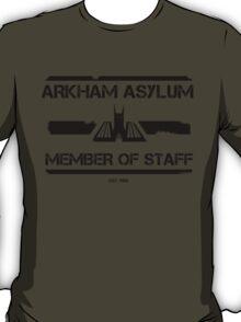 Arkham Asylum: Member Of Staff T-Shirt