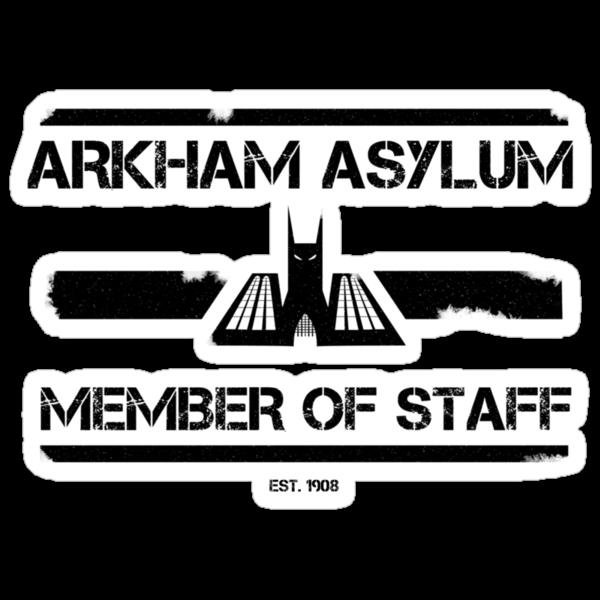Arkham Asylum: Member Of Staff by Oldbenkenobi
