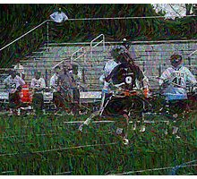 051612 044 0 pointillist boys lacrosse Photographic Print