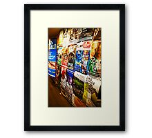 Coming Attractions Framed Print