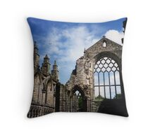 Holyrood Abbey Throw Pillow