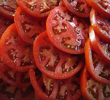 Sliced Tomatoes by Susan S. Kline