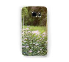 Purple Flower Field Samsung Galaxy Case/Skin