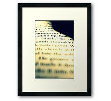 Fifty Shades Framed Print