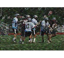 051612 157 0 old master boys lacrosse explosion cloth Photographic Print