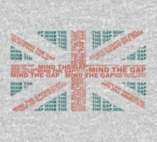 Mind The Gap UK Flag by Anastasiia Kucherenko