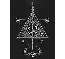 Deathly Hallows Photographic Print