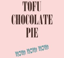 TOFU CHOCOLATE PIE by veganese
