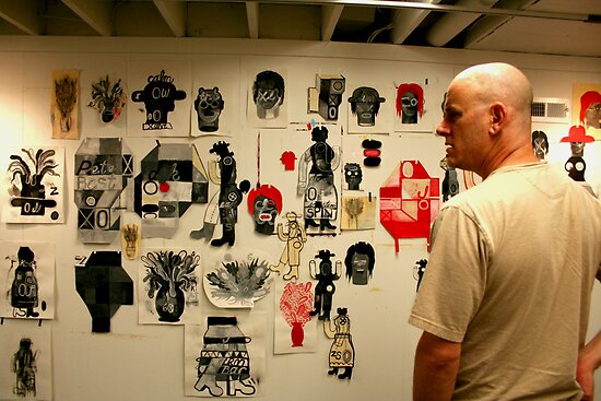 In the Studio by Honario