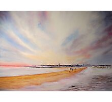 Winter on St Andrews Photographic Print