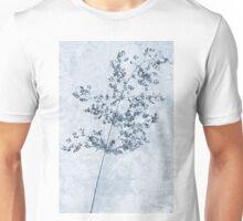 Pressed Grass Cyanotype Unisex T-Shirt