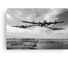 Dambusters practise low flying Canvas Print