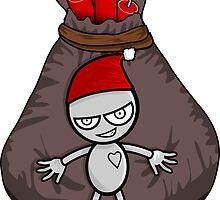 Merry Robot Christmas by Winkham