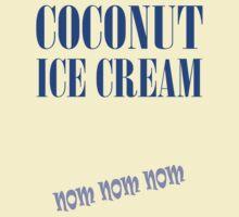 COCONUT ICE CREAM by veganese