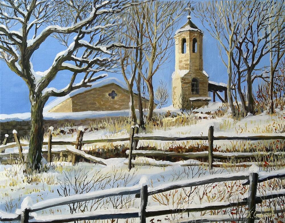 Winter in Stoykite by kirilart