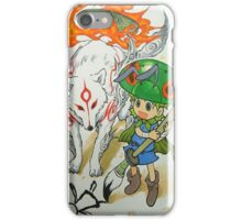 Yotsuba and Ammy iPhone Case/Skin