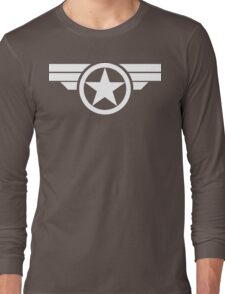 Super Soldier - White Long Sleeve T-Shirt