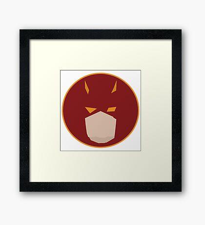 The Lawyer Hero Framed Print