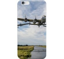 Dambusters practise low flying iPhone Case/Skin