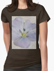 Linum Watercolour Womens Fitted T-Shirt