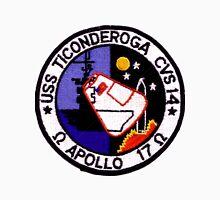 USS Ticonderoga (CVS-14): Apollo 17 Recovery Unisex T-Shirt