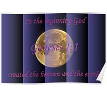 In the Beginning God. . . Poster