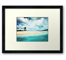 Sandy Spit Framed Print
