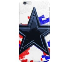 Star red white blue iPhone Case/Skin