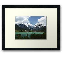 Pertisau and Lake Achen - Tyrol, Austria Framed Print