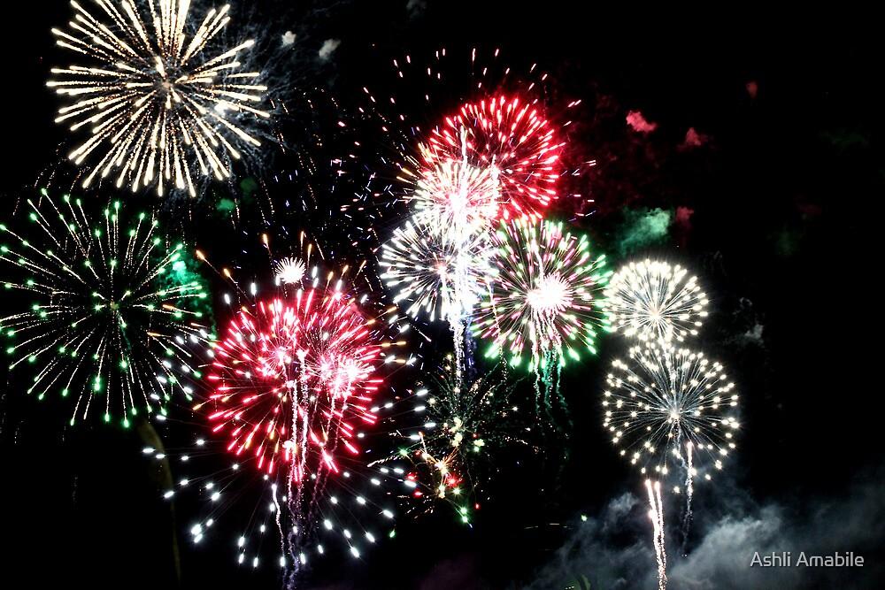 Fireworks by Ashli Amabile