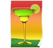 Margarita Sunset Poster