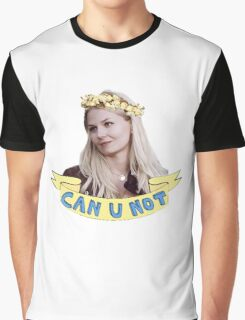 Emma Swan doesn't take any of your poop Graphic T-Shirt