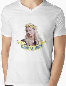 Emma Swan doesn't take any of your poop Mens V-Neck T-Shirt