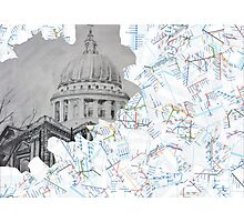 St Paul's Cathedral Photographic Print