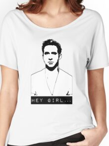 Hey Girl... Women's Relaxed Fit T-Shirt