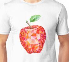 Low Poly Watercolor Apple Unisex T-Shirt