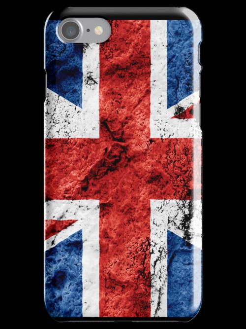 UK iPhone case by Chrome Clothing