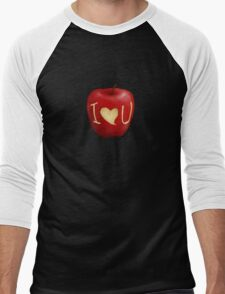 Sherlock- I <3 U  Men's Baseball ¾ T-Shirt
