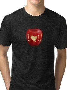 Sherlock- I <3 U  Tri-blend T-Shirt